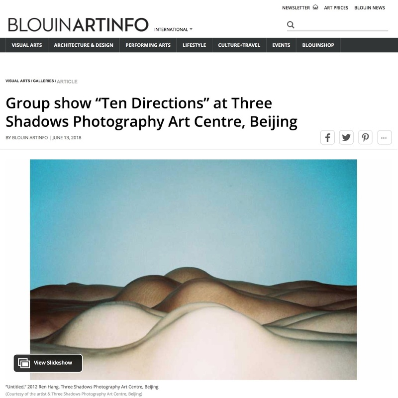 "Group show ""Ten Directions"" at Three Shadows Photography Art Centre, Beijing"